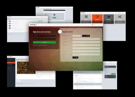 Online print system