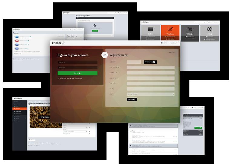 Online printing system